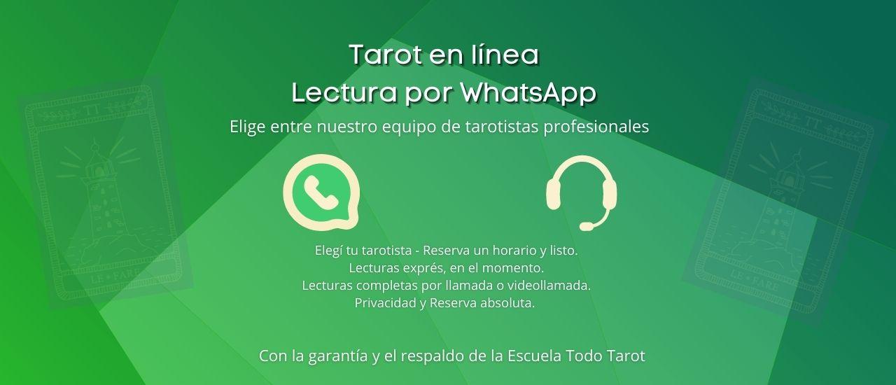 Lectura de Tarot WhatsApp